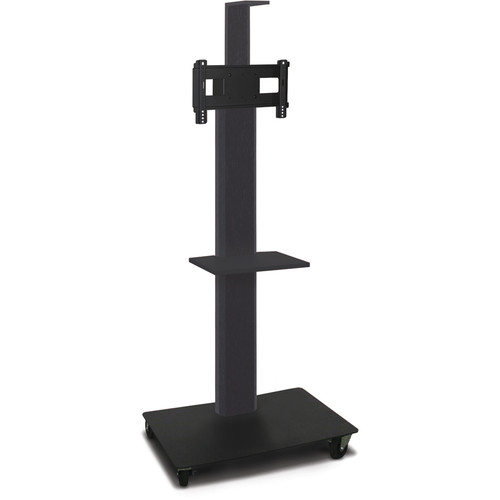 """Marvel 65"""" High Mobile Stand for 26-32"""" Flat Panel Monitor (Powder Coated, 1 Accessory, 1 Camera Shelf)"""