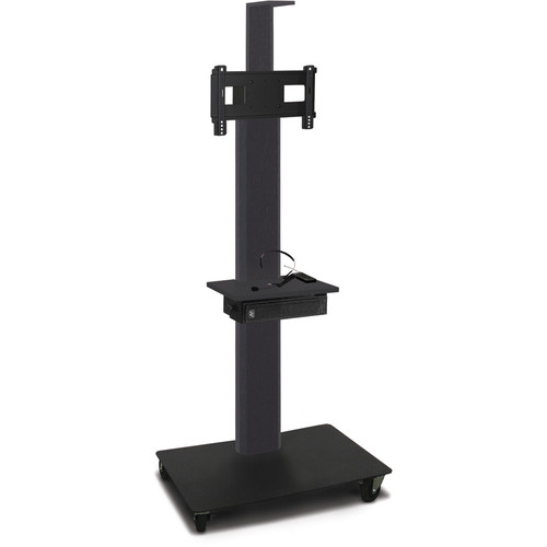 "Marvel 65"" High Mobile Stand w/Sound System for 26-32"" Flat Panel Monitor (Powder Coated, Accessory, Cam Shelf)"