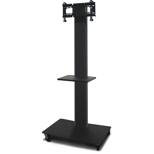 "Marvel 80"" Vizion TV/Monitor Stand and Mount with One Shelf (Charcoal Gray)"