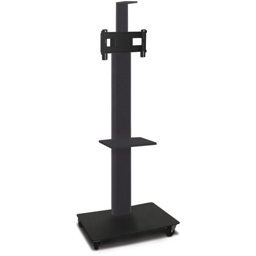 "Marvel 80"" High Mobile Stand for 26-32"" Flat Panel Monitor (Powder Coated, 1 Accessory, 1 Cam Shelf)"