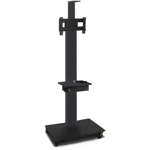 "Marvel 80"" High Mobile Stand w/Sound System for 26-32"" Flat Panel Monitor (Powder Coated, 1 Accessory, 1 Cam Shelf)"