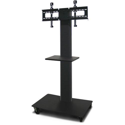 """Marvel 55"""" Vizion TV/Monitor Stand and Mount with One Shelf (Charcoal Gray)"""