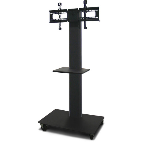 "Marvel 65"" Vizion TV/Monitor Stand and Mount with One Shelf (Charcoal Gray)"