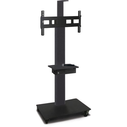 "Marvel 65"" High Mobile Stand w/Sound System for 35-55"" Flat Panel Monitor (Powder Coated, Accessory, Cam Shelf)"