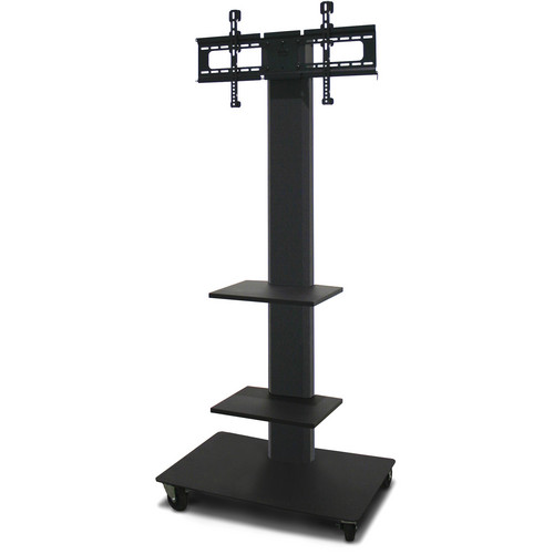 "Marvel 80"" Vizion TV/Monitor Stand and Mount with Two Fixed Shelves (Charcoal Gray)"