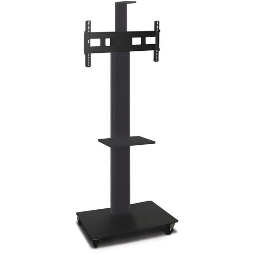 "Marvel 80"" High Mobile Stand for 35-55"" Flat Panel Monitor (Powder Coated, 1 Accessory, 1 Cam Shelf)"