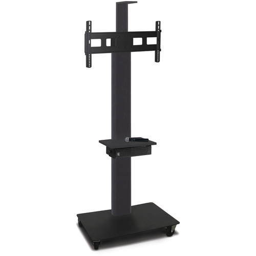 "Marvel 80"" High Mobile Stand w/Sound System for 35-55"" Flat Panel Monitor (Powder Coated, Accessory, Cam Shelf)"