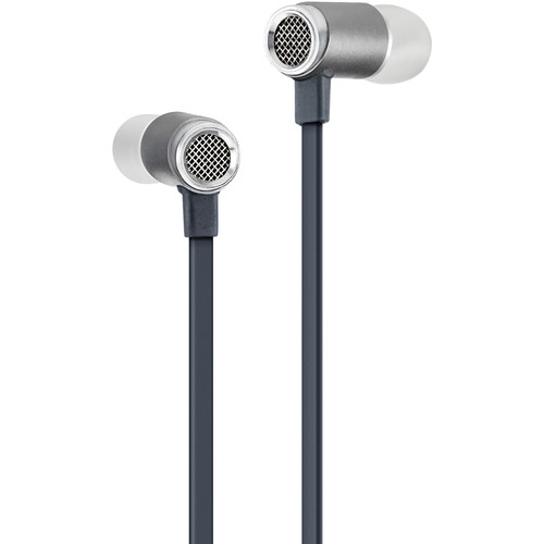 Master & Dynamic ME03G-A Earphones with Waffle Pattern Back (Gunmetal)