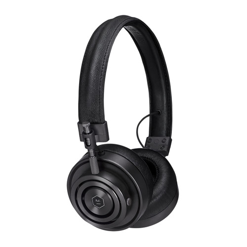Master & Dynamic MH30 Foldable On-Ear Headphones (Black Metal)