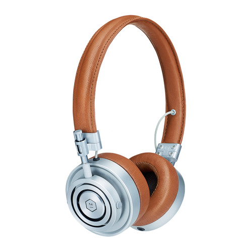 Master & Dynamic MH30 Foldable On-Ear Headphones (Brown/Silver)