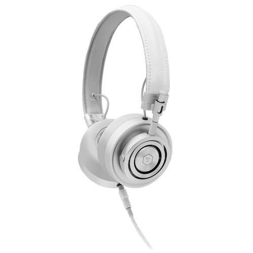 Master & Dynamic MH30S5 Foldable On-Ear Headphones (White)