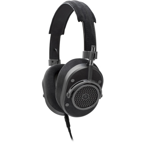 Master & Dynamic MH40 Over-Ear Headphones (Gunmetal/Black Alcantara)
