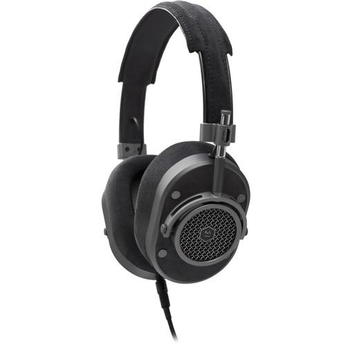 Master & Dynamic MH40 Over-Ear Headphones (Gunmetal/Black Alcantara)