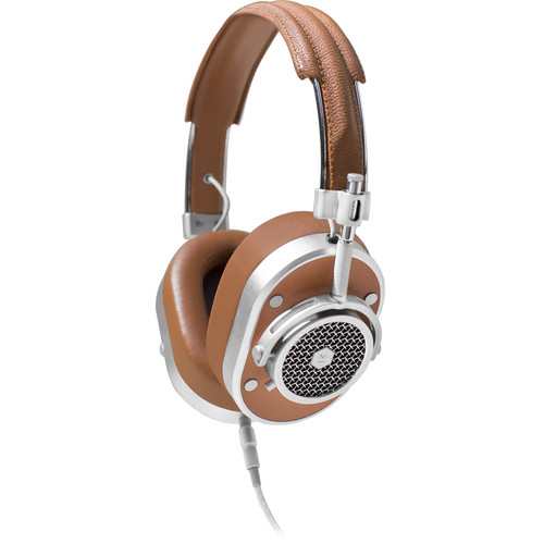 Master & Dynamic MH40 Over-Ear Headphones (Brown/Silver)