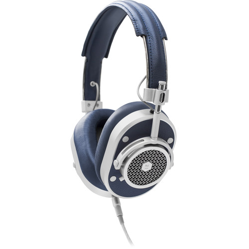 Master & Dynamic MH40 Over-Ear Headphones (Navy/Silver)