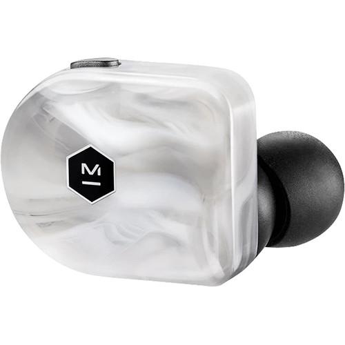 Master & Dynamic MW07 Plus True Wireless In-Ear Headphones (White Marble)