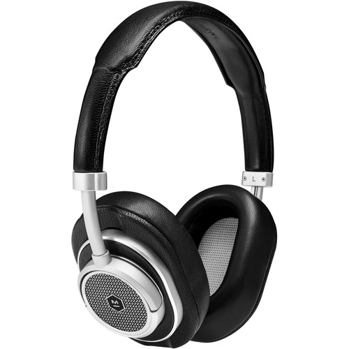 Master & Dynamic MW50 On Plus Over Ear Wireless Headphones (Black/Silver)
