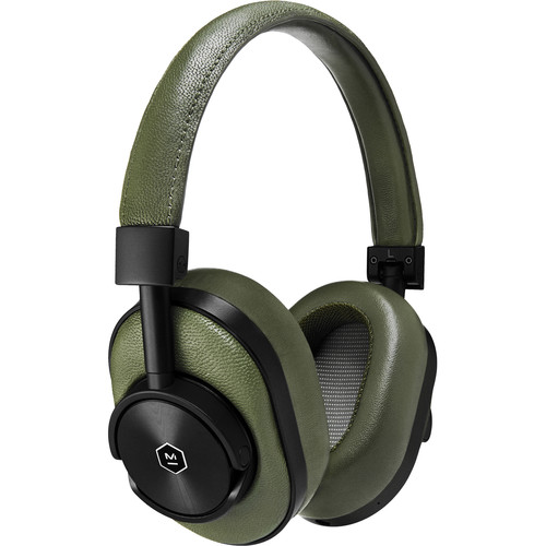 Master & Dynamic MW60 Wireless Over-Ear Headphones (Green and Black)