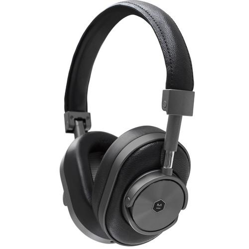 Master & Dynamic MW60G1 Wireless Over-Ear Headphones (Gunmetal and Black)