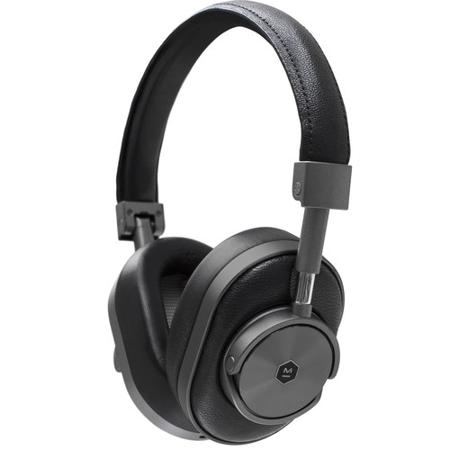 Master & Dynamic MW60 Wireless Over-Ear Headphones (Gunmetal and Black)