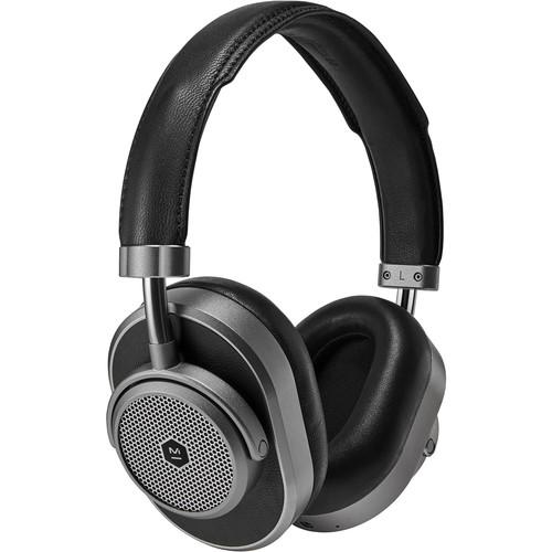 Master & Dynamic MW65 Wireless Noise-Canceling Over-Ear Headphones (Gunmetal & Black Leather)