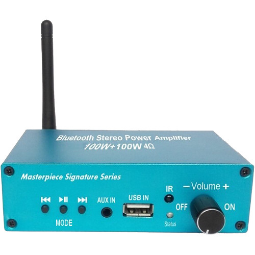 Masterpiece Signature Series MPC-4555 Stereo Receiver (Aqua)