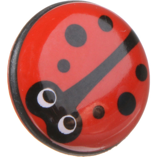 Match Technical Bug-O Soft Shutter Release Button (Red Lady Bug, Short Stem)