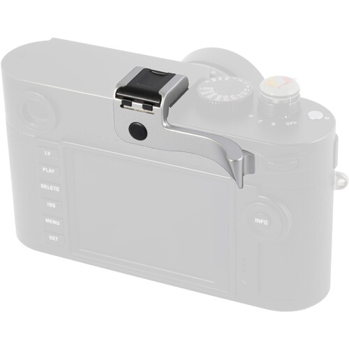 Match Technical CSEP-10S Thumbs Up Grip for Leica M (Typ 240) and M (Typ 262) (Silver)