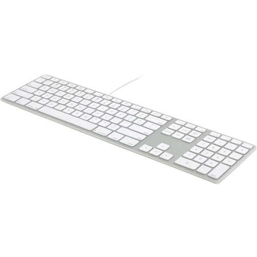 Matias RGB Backlit Wired Keyboard for Mac (Silver)