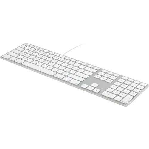 matias wired aluminum keyboard for mac silver fk318s b h photo. Black Bedroom Furniture Sets. Home Design Ideas