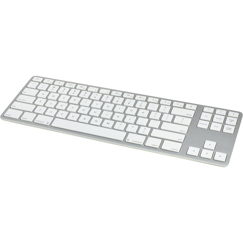 Matias Wireless Aluminum Tenkeyless Keyboard (Silver)