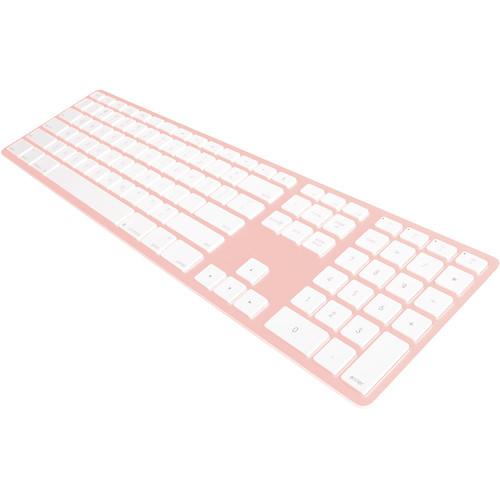 Matias Wireless Aluminum Keyboard (Rose Gold)