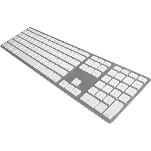 Matias Wireless Aluminum Keyboard (Silver)