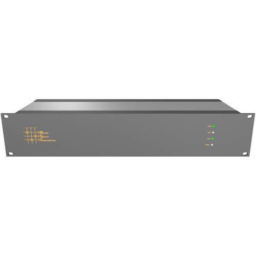 Matrix Switch 8 x 32 3G-SDI Video Router with Status Panel (Aviation)