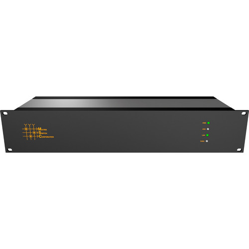 Matrix Switch 16 x 24 2RU 3G/HD/SD-SDI Video Router with Status Panel