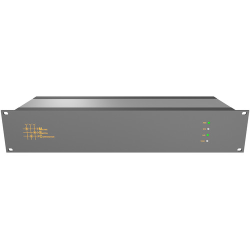 Matrix Switch 24 x 8 3G-SDI Video Router with Button Panel (Aviation)
