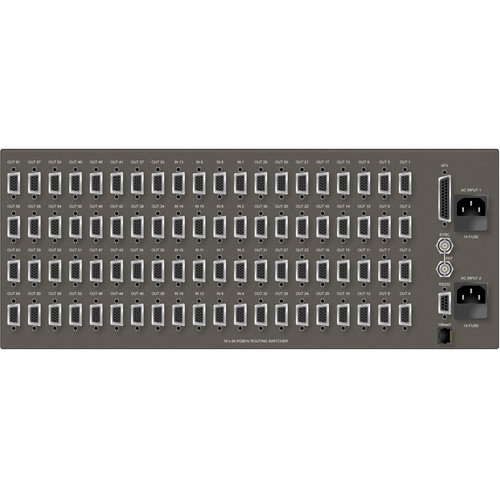 Matrix Switch MSC-5-1664 16 x 64 VGA RGBHV Video Routing Switcher