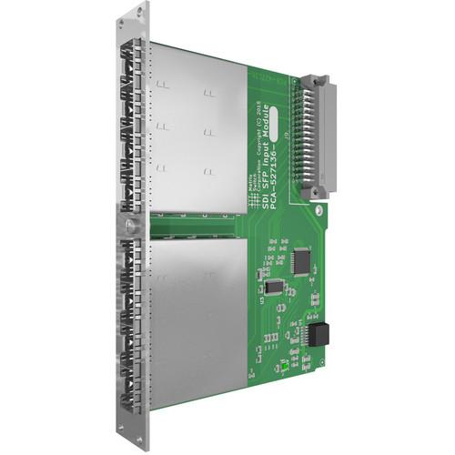 Matrix Switch Modular SDI Input Card with 8 SFP Ports