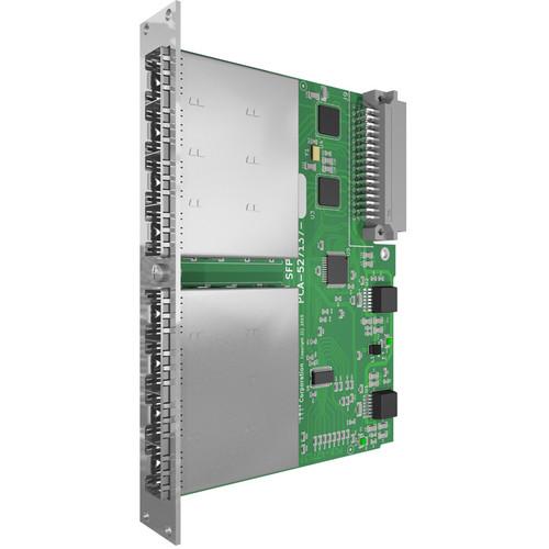 Matrix Switch Modular SDI Output Card with 8 SFP Ports