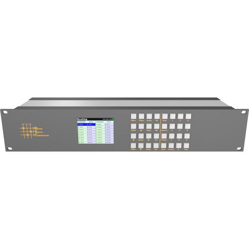 Matrix Switch Remote LCD Control Panel with QVGA Display (2 RU)