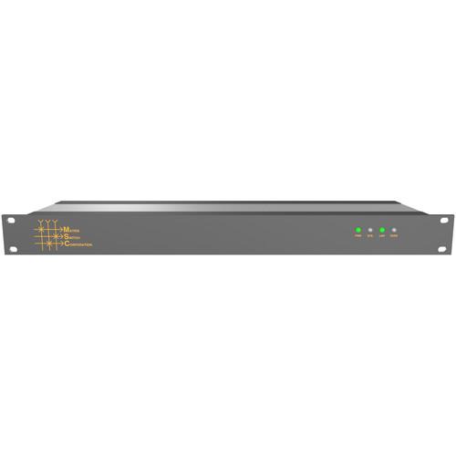 Matrix Switch MSC-DE1616S 16 x 16 AES Digital Audio Routing Switcher with Status Panel