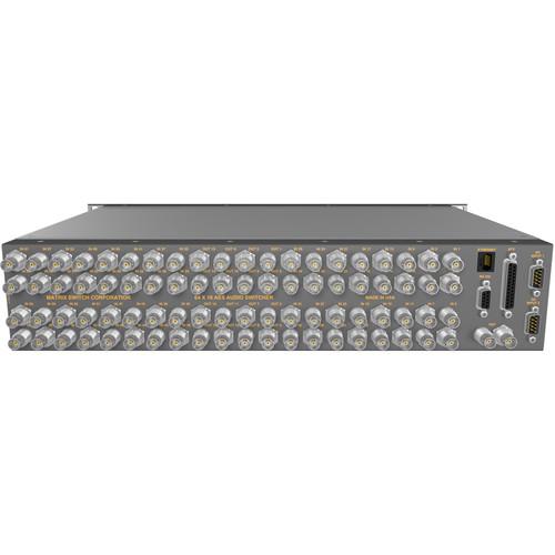 Matrix Switch MSC-DE6416 64 x 16 AES Audio Router
