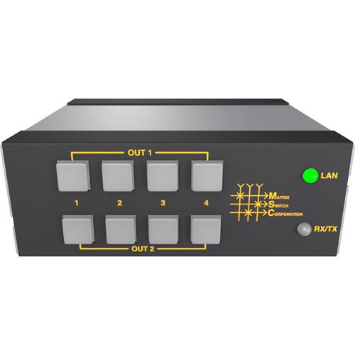 Matrix Switch MSC-HD42L 4x2 Mini 3G/HD/SD-SDI Video Router Switch