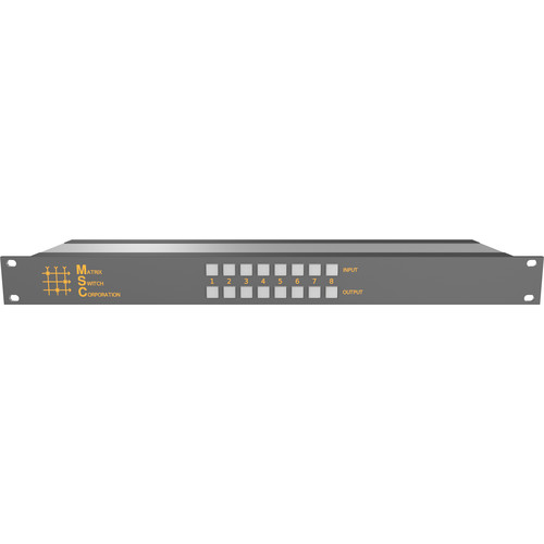 Matrix Switch Compact High Performance 8x8 HD-SDI Digital Video Switcher