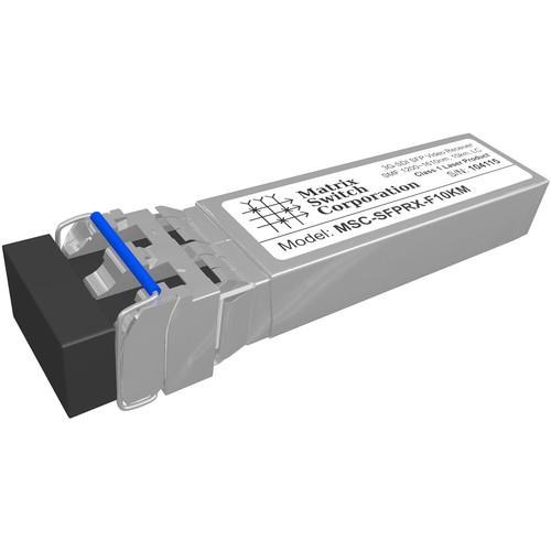 Matrix Switch SDI Fiber Optic SFP Input Module (6.2 Miles)