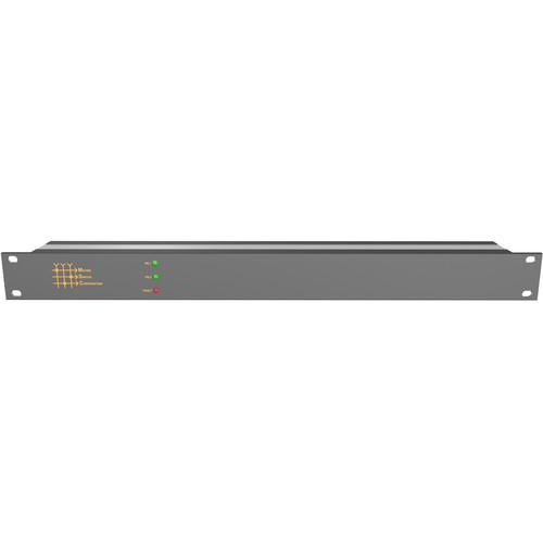 Matrix Switch 4 x 4 12G-SDI Video Router with Status Panel