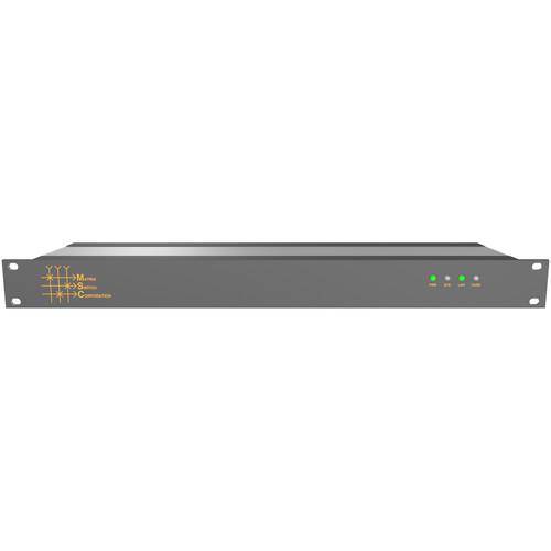 Matrix Switch 16 x 16 Composite Analog Video Router with Status Panel (Aviation)