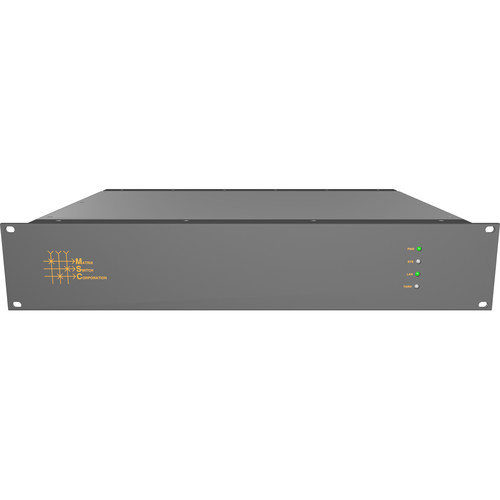 Matrix Switch 32 x 32 Composite Analog Video Router with Status Panel (Aviation)