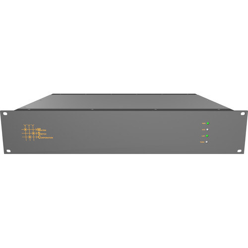 Matrix Switch MSC-V3248 32 x 48 Composite Analog Video Router with Status Panel