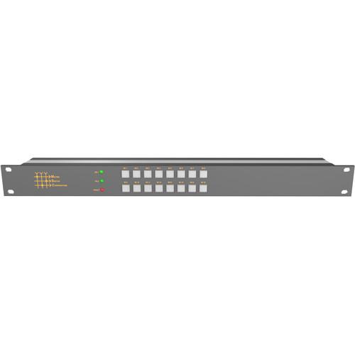 Matrix Switch 16 x 1 3G-SDI Video Routing Switcher with Button Panel (1 RU)